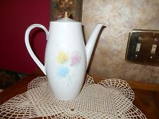 Vintage Seltmann Weiden K Bavaria Bella German Tea Pot Coffee Pot Floral flower
