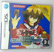YUGIOH WORLD CHAMPIONSHIP 2007 NINTENDO DS PAL Senza le Carte Yugioh