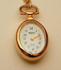 Rare Majestron Pendant Necklace Womens Mother Child Quartz Watch New NOS 1990s