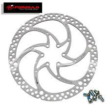 FORMULA Disc Rotor 180mm 01 pc + 06 Rotor Bolts  **L@@K** Shimano Sram