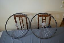 Mavic Open Sup Ceramic rims 36h Campagnolo Record 8 speed hubs wheels wheelset