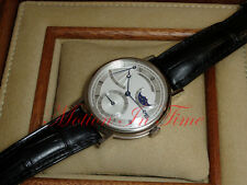 Breguet Classique Power Reserve 18kt White Gold 39mm Moonphase 7137BB/11/9V6