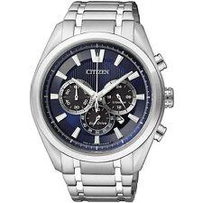 Citizen Eco-Drive Mens Super Titanium Classic Chronograph. Elegant. CA4010-58L
