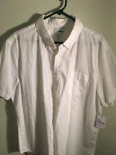 Sonoma Short-sleeve Shirt White XL Mens NWT