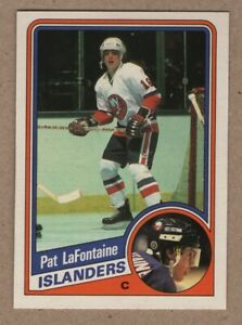 1984-85 Pat LaFontaine O-Pee-Chee Rookie #129 from Fresh Vending Case Mint 9.99$