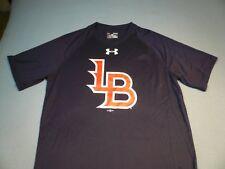 Under Armour Louisville Bats Logo Tech MEDIUM Loose Fit BRAND NEW shirt MiLB UA