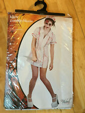 Killer Zombie Nurse Nurses Uniform Fancy Dress Size Medium Wicked Costumes