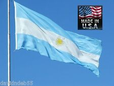 3x5 ARGENTINA ARGENTINIA Heavy Duty In/outdoor Super-Poly FLAG BANNER*USA MADE