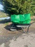 Wheelbarrow Booster - Extend Your Wheelbarrow Capacity By 300% #20H3