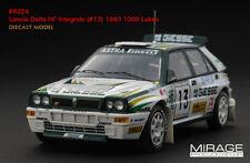"""Lancia Delta HF Int. #13 T.Makinen """"Rally 1000 Lakes"""" 1993 (HPI 1:43 / 8224)"""