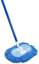 Nylon Dust Mop 360 Degrees Swivel Clean Corners Baseboards Gathers Collects Dust