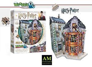 Wrebbit 3D Puzzle Harry Potter - Weasleys Magical Zauberscherze & Tagesproph