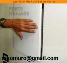 Sportello Filomuro per domotica