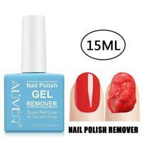 15ML Nail Gel Polish Burst Remover Soak Off Polish Cleaner Nail B2C9