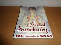 Angel Sanctuary Vol. 11 by kaori Yuki Viz Manga Graphic Novel Book in English