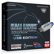 KALI LINUX on 16GB USB Hacking,Security,Cracking,Password,Exploitation Toolkit