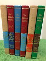 Lot of 6 Vintage 1961 Holt Rinehart & Winston's The Children Classics Kids Books