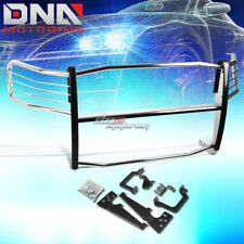FOR 06-08 RAM 1500-3500 MEGA CAB CHROME STAINLESS STEEL FRONT GRILL GUARD FRAME