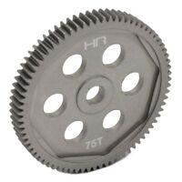 Hot Racing SCT875H Team Associated RC10 T5M & SC5M Aluminum Spur Gear (75T,48P)