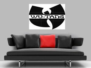"WU TANG CLAN BORDERLESS MOSAIC TILE WALL POSTER 35"" x 25"" HIP HOP"