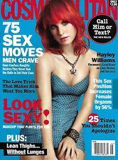 Cosmopolitan Magazine Paramore Hayley Williams Fashion Love and Men Makeup 2011