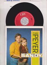 """7"""" CARL PEYER SANDY WEITERGEHN CBS ( mint - !)"""