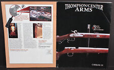 Thompson/Center Arms 1996 Pocket Catalog No.23. Contender Scout Thunder Hawken