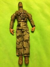 "G I Joe Lanard Toys Vintage 2003 Bearded 11 1/2"" with pants, articulated exc con"