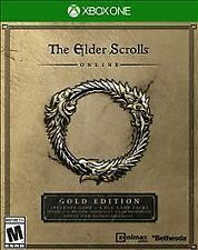 XBOX ONE ELDER SCROLLS ONLINE GOLD EDITION NEW INCLUDES GAME AND 4 DLC PACKS