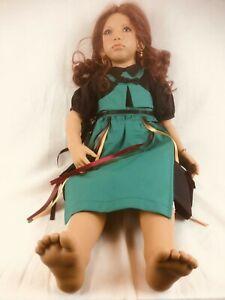 Poupée de Collection Annette Himstedt - Madina 1995 - 70Cm - Neuve
