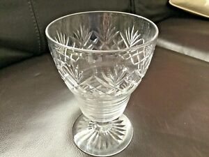 Stuart Crystal Vase Signed To Base