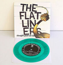 """DEAD TO ME cover FUGAZI / FLATLINERS cover ROCKET FROM THE CRYPT 7"""" GREEN Vinyl"""