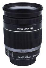 Canon EF-S 18-200mm 18-200 mm 3.5-5.6 is viaje zoom eos canon-distribuidor mercancía nueva