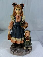 Boyds Bears Yesterday's Child - Laura & Jane First Day School - Figurine In Box