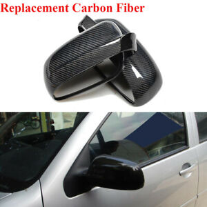 Fit for Volkswagen Golf 4 IV MK4 1997-03 Rearview Side Mirror Cover Carbon Fiber