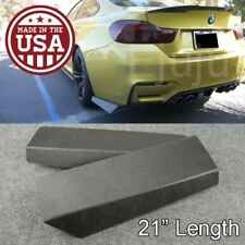 "21"" Rear Bumper Lip Downforce Apron Splitter Diffuser Valence For Mazda Subaru"