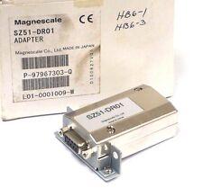 NEW MAGNESCALE SZ51-DR01 ADAPTER MODULE SZ51DR01
