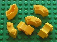 6 x LEGO yellow brick 3063 / Set 7730 4957 8037 4888 358 396 6753 8847 599 ...