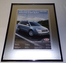 2006 Kia Sedona 11x14 Framed ORIGINAL Vintage Advertisement