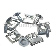 5 Pair Engine Undertray Clips Shield Bottom Cover Fastener Metal Rover 75 MG ZT