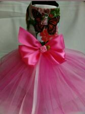 New listing Floral Harness Dogs/Cat dress size available are Xxs * Xs * and Small