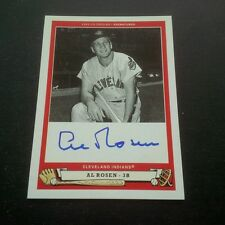 2005 Upper Deck ORIGINS Al Rosen AUTO - Card is a GEM! RO1