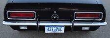 67 68 Camaro Chrome Rear Bumper OE Quality Original GM# 3886603