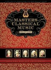 MASTERS OF CLASSICAL MUSIC 6 CD NEU MOZART/VERDI/BACH/SCHUBERT/BEETHOVEN/+