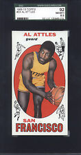 1969-70 Topps Al Attles #24 Basketball SF Warriors SGC 92 NM/MT+  8.5