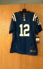 Nike On Field Andrew Luck #12 Indianapolis Colts Youth Jersey Large 14-16 NWT
