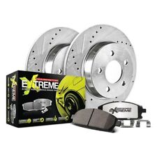 Power Stop KOE2889 Front//Rear 1-Click Replacement Brake Kit for 2004 Pontiac GTO