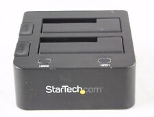 SATDOCK22U3S StarTech.com USB 3.0 SATA Dual Hard Drive Docking Station Used