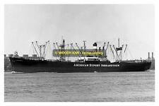 mc0314 - American Export Cargo Ship - Flying Enterprise II - photograph