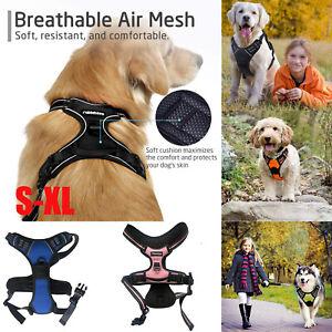 No-Pull Haustier gepolsterter Hundegeschirr reflektierende Haustier Weste Griff